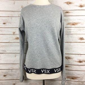 Victoria's Secret Sport Grey Crewneck Pullover